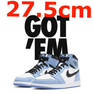 ナイキ(NIKE)のAIR JORDAN 1 RETRO HIGH UNIVERSITY BLUE(スニーカー)