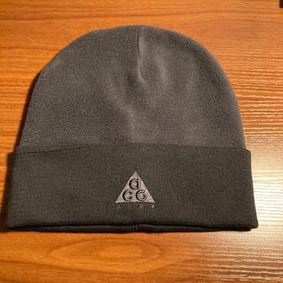 NIKE - NIKE ACG ニット帽 DRI-FIT ビーニー グレー ブラック