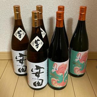 ★国分酒造★飲み比べ フラミンゴオレンジ 安田 芋焼酎 1800ml 6本セット(焼酎)