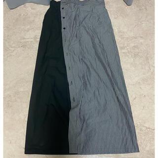 エムエムシックス(MM6)のMM6 ストライプスカート マルタンマルジェラ(ロングスカート)