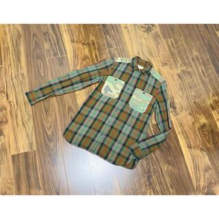 デニムアンドサプライラルフローレン(Denim & Supply Ralph Lauren)のデニムアンドサプライ デニサプ ラルフ チェックシャツ シャツ デニム&サプライ(シャツ)