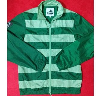 エクストララージ(XLARGE)のX-LARGE ナイロンジャケット 緑 グリーン 即購入可(ナイロンジャケット)