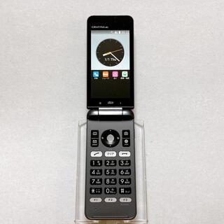 キョウセラ(京セラ)のSIMフリー KYF31 GRATINA 4G 54 ブラック 京セラ au(携帯電話本体)