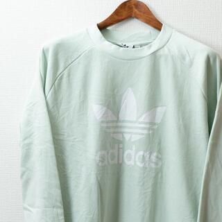 アディダス(adidas)のadidas アディダス オリジナルス トレフォイル クルーメンズ スウェット(ニット/セーター)