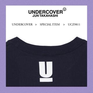 アンダーカバー(UNDERCOVER)の希少サイズ5 新品 アンダーカバー ロゴ tシャツ パーカー スニーカー 新作(Tシャツ/カットソー(半袖/袖なし))