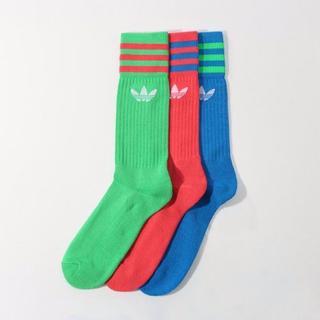 アディダス(adidas)のadidas Originals  ソリッド・クルー・ソックス3足セット(ソックス)