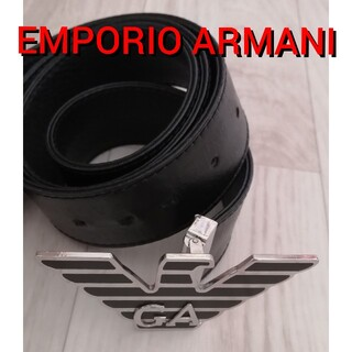 エンポリオアルマーニ(Emporio Armani)のエンポリオアルマーニ ベルト ファッション小物 男女兼用 メンズファッション(ベルト)