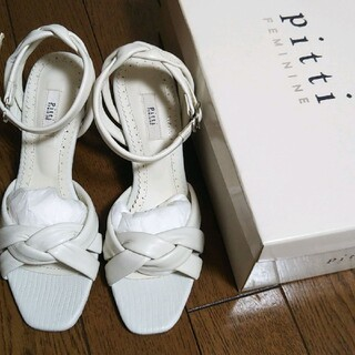 ピッティ(Pitti)のピッティ☆pitti☆サンダル☆21、5☆白☆小さいサイズ☆靴(サンダル)