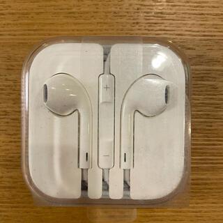 アップル(Apple)のiPhone イヤホン 未使用(ヘッドフォン/イヤフォン)