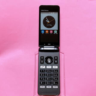 キョウセラ(京セラ)のSIMフリー KYF31 GRATINA 4G 62 ブラック 京セラ au(携帯電話本体)