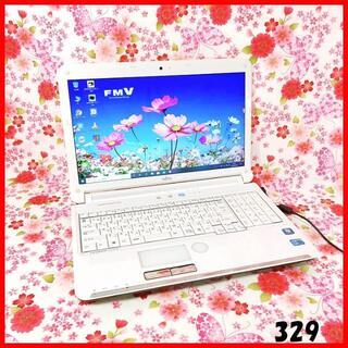 フジツウ(富士通)のノートパソコン♪Corei5♪新品SSD♪Webカメラ♪ブルーレイ♪Win10(ノートPC)