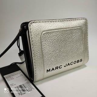 マークジェイコブス(MARC JACOBS)のMARC JACOBS シルバー折り財布☆新品未使用(財布)