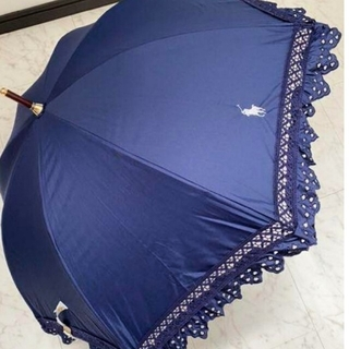 POLO RALPH LAUREN - 本日限定価格 大人気商品✨新品タグ付き♡ポロラルフローレン レースフリル 日傘