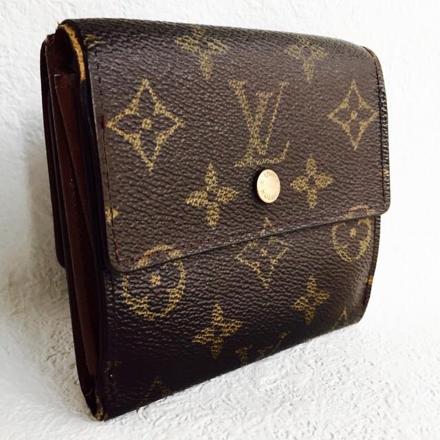 quality design 029a5 4f53d 【正規品】ルイヴィトン* モノグラム 三つ折り財布 | フリマアプリ ラクマ