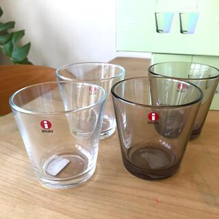 イッタラ(iittala)のイッタラ カルティオタンブラー×4(グラス/カップ)