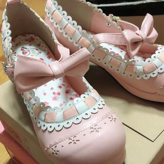 ベイビーザスターズシャインブライト(BABY,THE STARS SHINE BRIGHT)のBABYロリータおでこ靴(ハイヒール/パンプス)