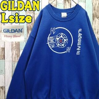 ギルタン(GILDAN)の【レア】ギルダン☆スウェット サッカー ビッグロゴ ビッグシルエット(スウェット)