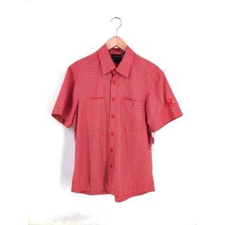 マムート(Mammut)のMAMMUT(マムート) チェック柄 半袖シャツ メンズ トップス(その他)
