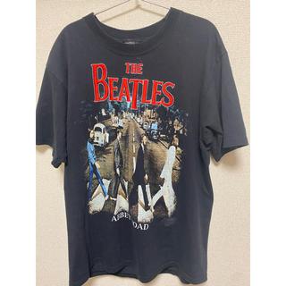 希少 Beatles バンt 90s 刺繍(Tシャツ/カットソー(半袖/袖なし))