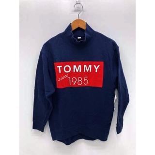 トミー(TOMMY)のTOMMY(トミー) フロッキーボックスロゴプリントハイネックスウェット(トレーナー/スウェット)