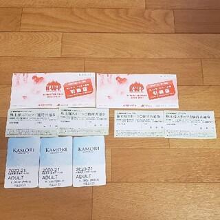 ルスツ チケット(ウィンタースポーツ)