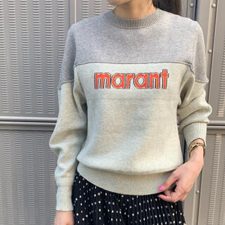 イザベルマラン(Isabel Marant)の新品未使用 イザベルマランエトワール KEDY ロゴニットセーター 36(ニット/セーター)