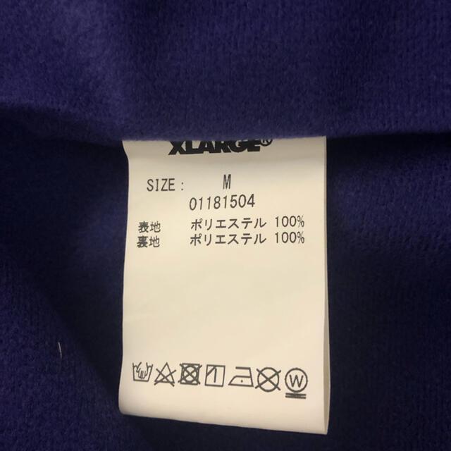 XLARGE(エクストララージ)のxlarge コーチジャケット Mサイズ ブラック メンズのジャケット/アウター(ナイロンジャケット)の商品写真