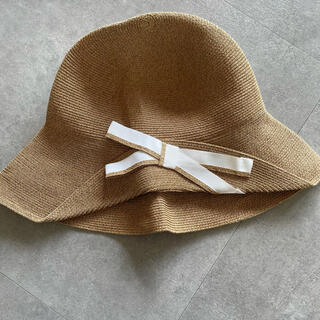 バーニーズニューヨーク(BARNEYS NEW YORK)のアシーナニューヨーク 麦わら帽子(麦わら帽子/ストローハット)