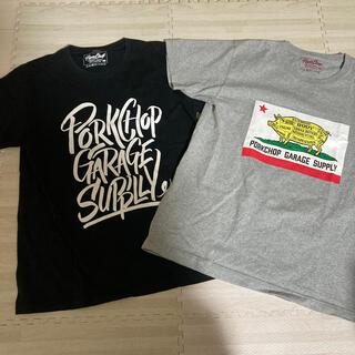 ネイバーフッド(NEIGHBORHOOD)のポークチョップ 半袖Tシャツ二枚セット(Tシャツ/カットソー(半袖/袖なし))