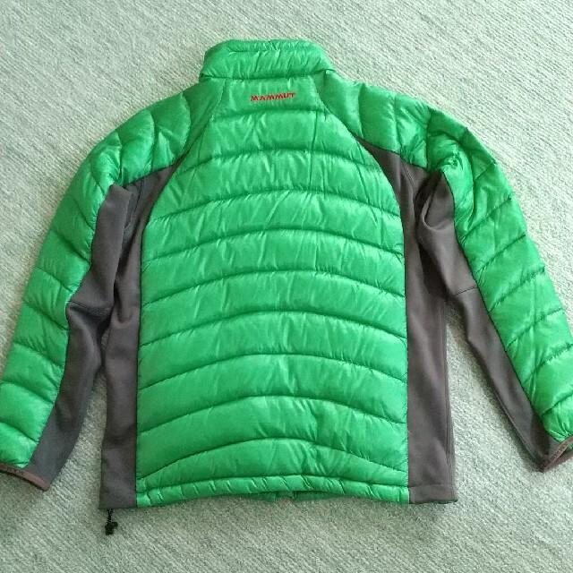 Mammut(マムート)のマムート ハイブリッドダウンジャケット メンズのジャケット/アウター(ダウンジャケット)の商品写真