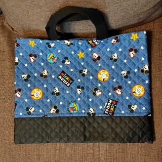 ミッキーマウス(ミッキーマウス)の通園バッグ レッスンバッグ 手さげ袋 ミッキー(バッグ/レッスンバッグ)