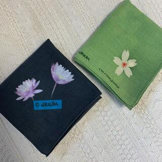 オクラ(OKURA)のokura バンダナ 2枚セット(バンダナ/スカーフ)