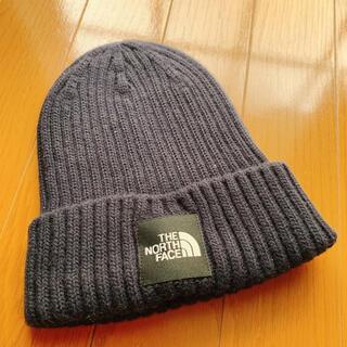 THE NORTH FACE - ネイビー ニット帽
