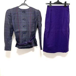 ジュンアシダ(jun ashida)のジュンアシダ スカートスーツ サイズ9 M -(スーツ)