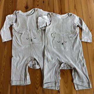 エイチアンドエイチ(H&H)の【ひめこさん専用】H&M☆ベビー服(ロンパース)
