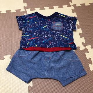 アンパサンド(ampersand)のアンパサンド ampersand セット Tシャツ ショートパンツ 70 80(Tシャツ)