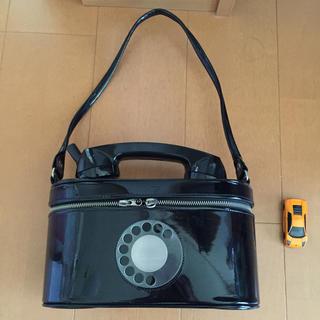 シンアンドカンパニー(SHIN&COMPANY)の超レア 黒電話バニティバッグ お値下!(ハンドバッグ)