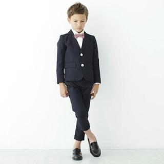 コドモビームス(こども ビームス)のSMOOTHY フォーマル セットアップスーツ 長ズボン 120センチ(ドレス/フォーマル)