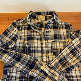 アパルトモンドゥーズィエムクラス(L'Appartement DEUXIEME CLASSE)のアパルトモン  襟ワイヤー入り チェックシャツ(シャツ/ブラウス(長袖/七分))
