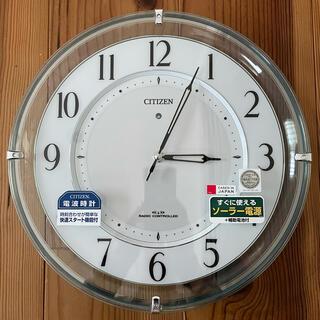 シチズン(CITIZEN)の電波時計(掛時計/柱時計)