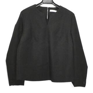 アドーア(ADORE)のアドーア 長袖カットソー サイズ38 M - 黒(カットソー(長袖/七分))