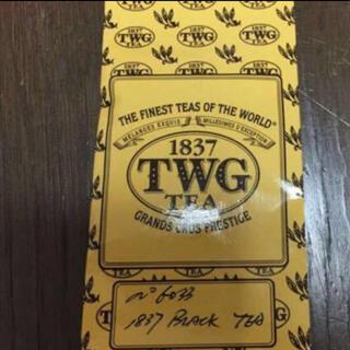 TWGシンガポール紅茶1837BLACK tea 50g×2 新品未使用未開封(茶)