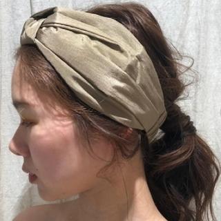 トゥデイフル(TODAYFUL)のTODAYFUL  Knot Hair Turban(ヘアバンド)