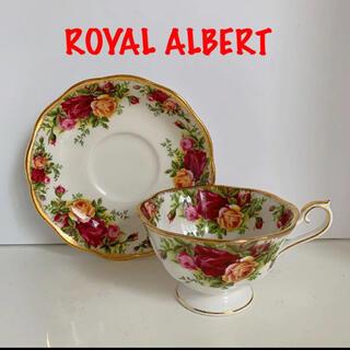 ROYAL ALBERT - ロイヤルアルバート オールドカントリーロース カップ&ソーサー