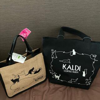 カルディ(KALDI)の【新品】KALDI ネコの日バッグ2021セット 抜き取りなし(その他)