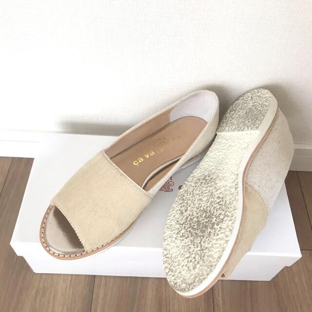 cavacava(サヴァサヴァ)のcavacava・オープンシューズ レディースの靴/シューズ(サンダル)の商品写真