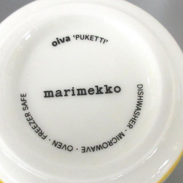 marimekko(マリメッコ)のマリメッコ 食器新品同様  - 陶器 インテリア/住まい/日用品のキッチン/食器(その他)の商品写真