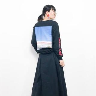 シマムラ(しまむら)のしまむら × ZOZOTOWN コラボTシャツ(Tシャツ/カットソー(七分/長袖))