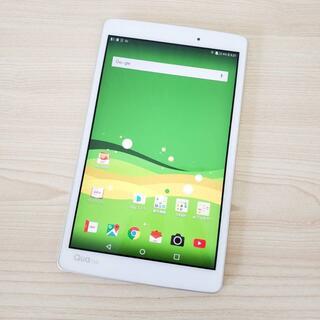 エルジーエレクトロニクス(LG Electronics)の【Ki294】Quatab LGT31 au 利用制限◯ 中古 Android (タブレット)