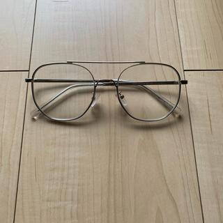 no brand clear lens sunglasses (サングラス/メガネ)